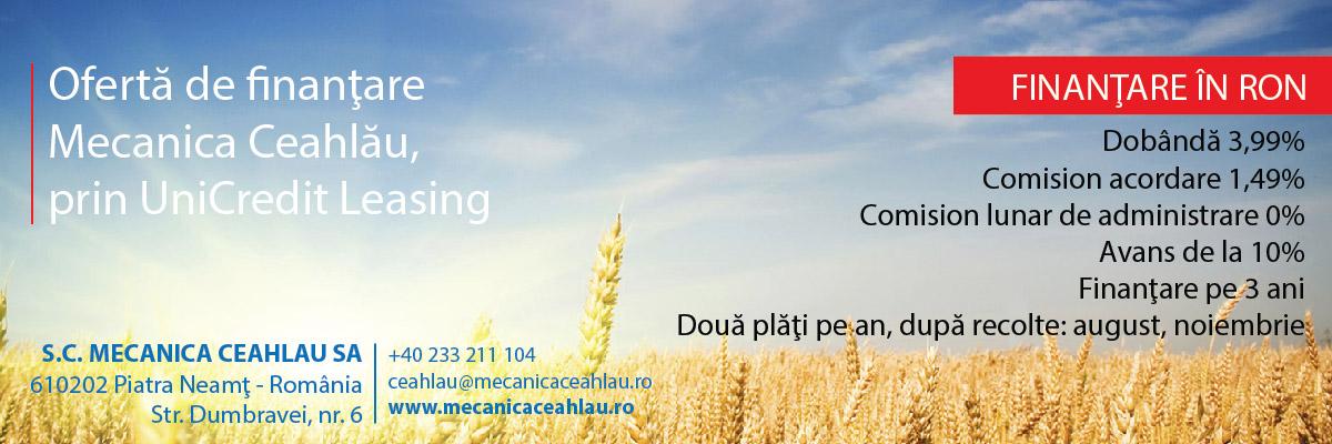 Oferta de finantare Mecanica Ceahlau